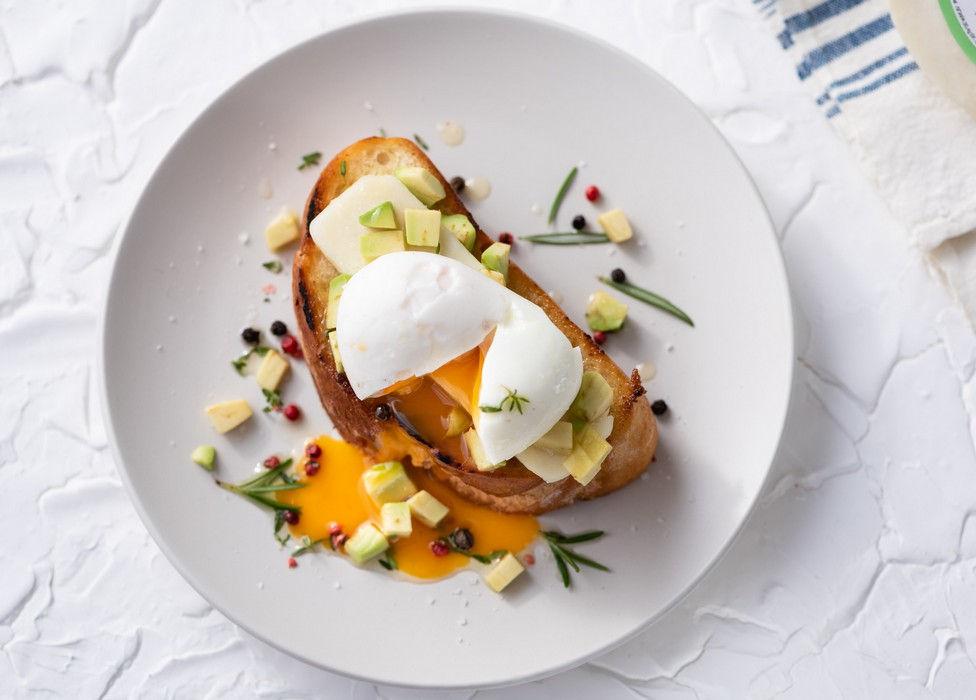 Αυγό ποσέ & Κατσικάκι Μαστέλο® 2