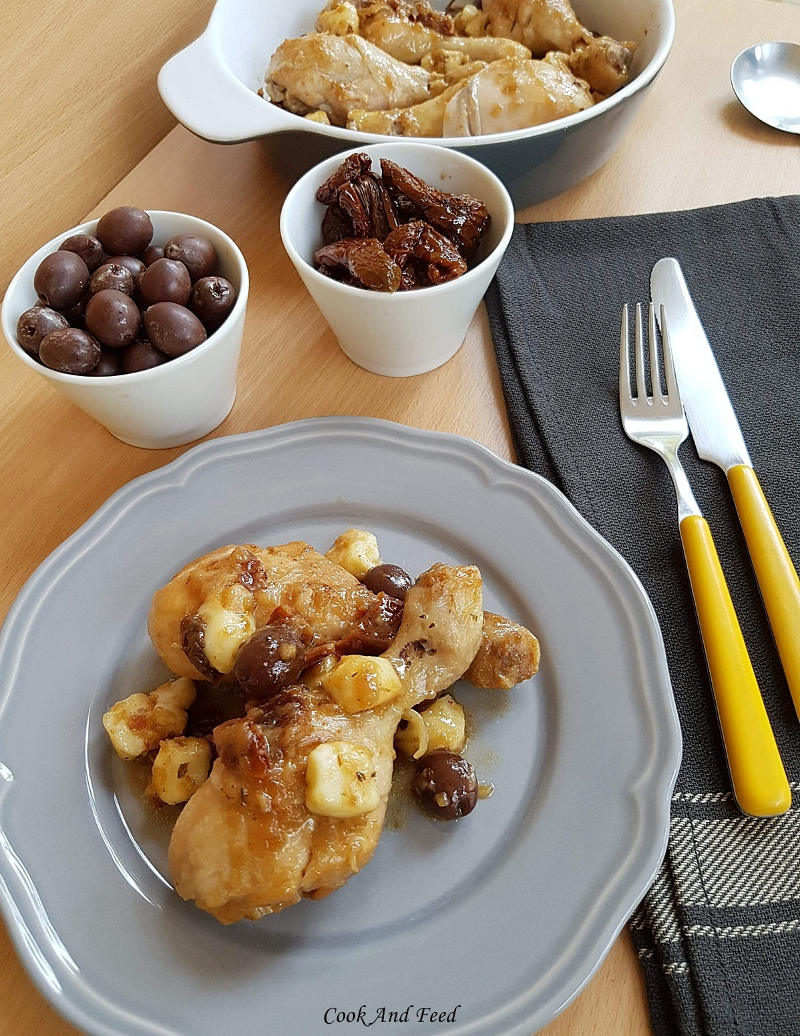 Cook and Feed | Chicken With Olives And Mastelo Cheese 3