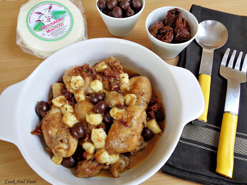 Cook and Feed | Chicken With Olives And Mastelo Cheese 4