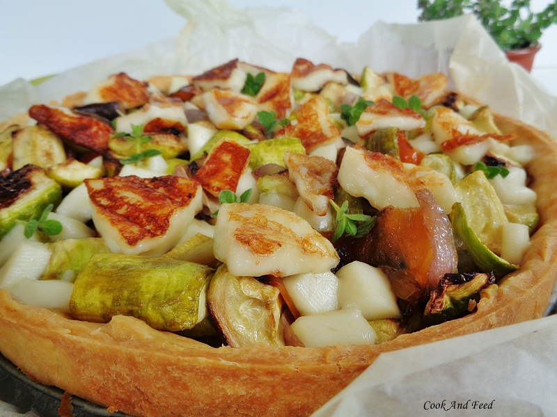 Cook and Feed | Vegetable & Mastelo Cheese Tart 5