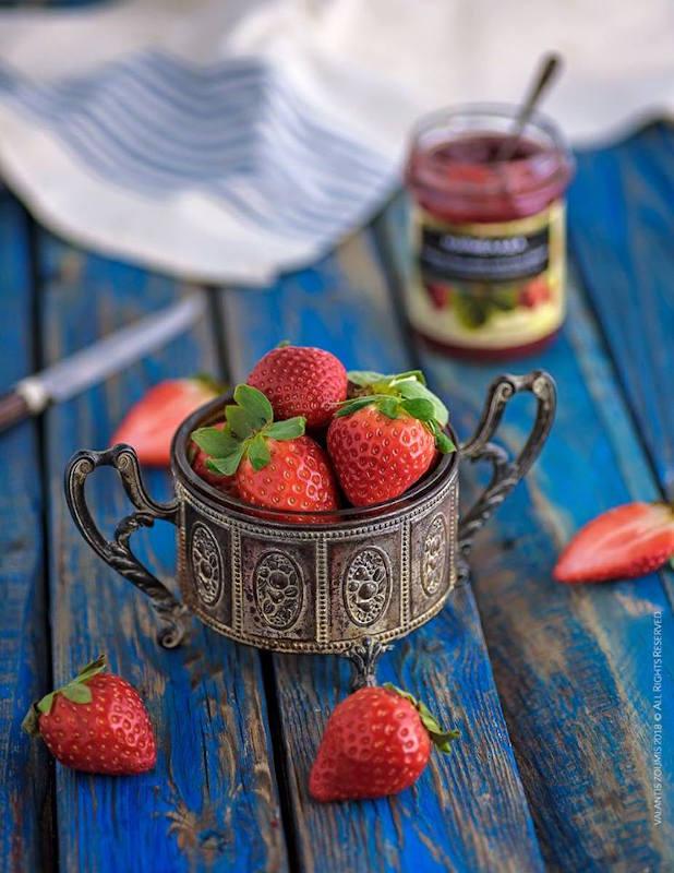 Τσιζκέικ με ανθότυρο Μαστέλο & μαρμελάδα φράουλα 3