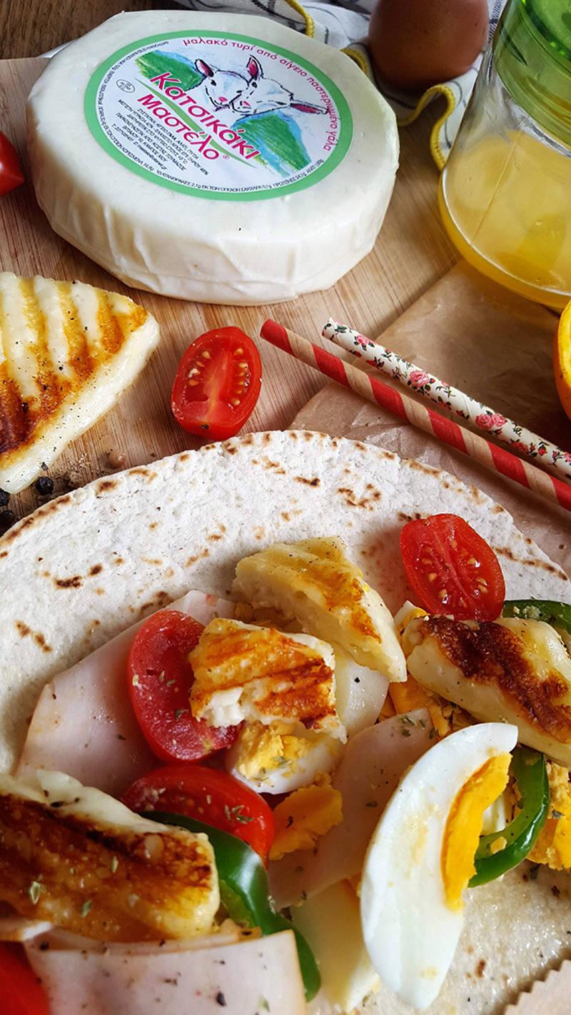 Art makes me happy   Τορτίγια με τυρί Μαστέλο 4