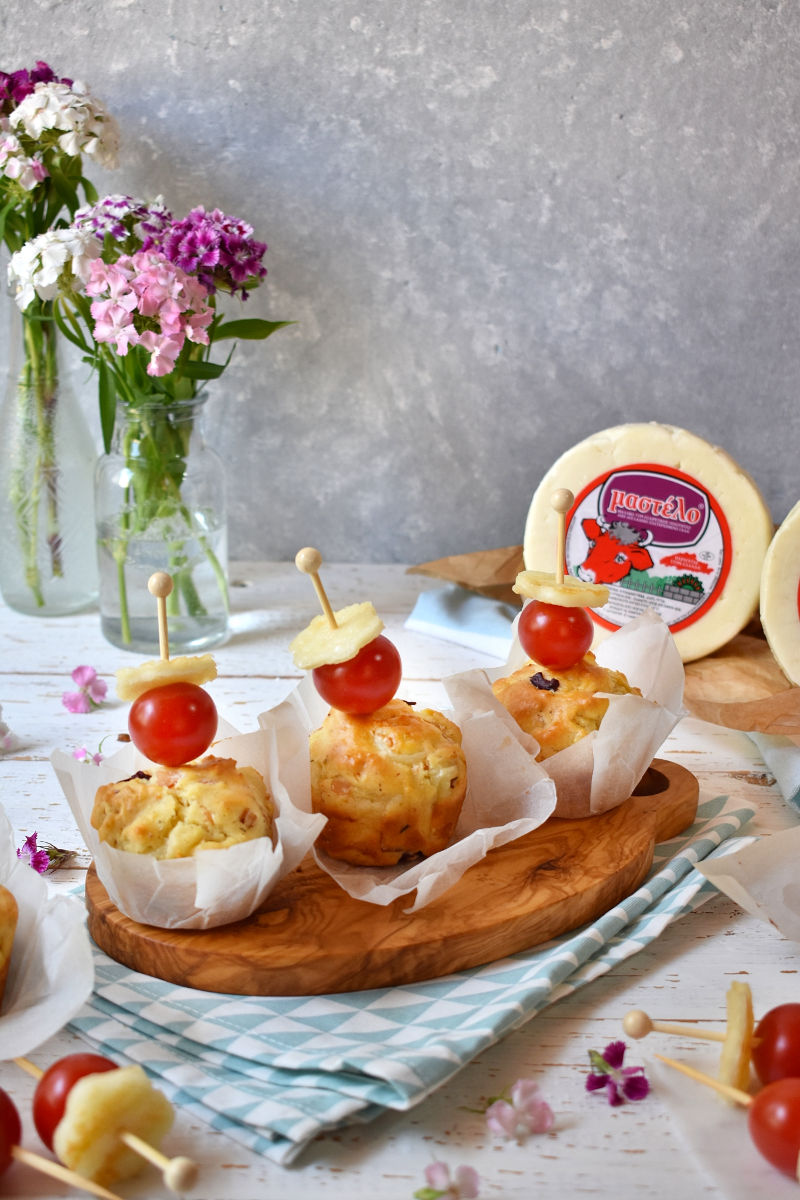 Handmade Little Treats   Μεσογειακά Μάφινς 2