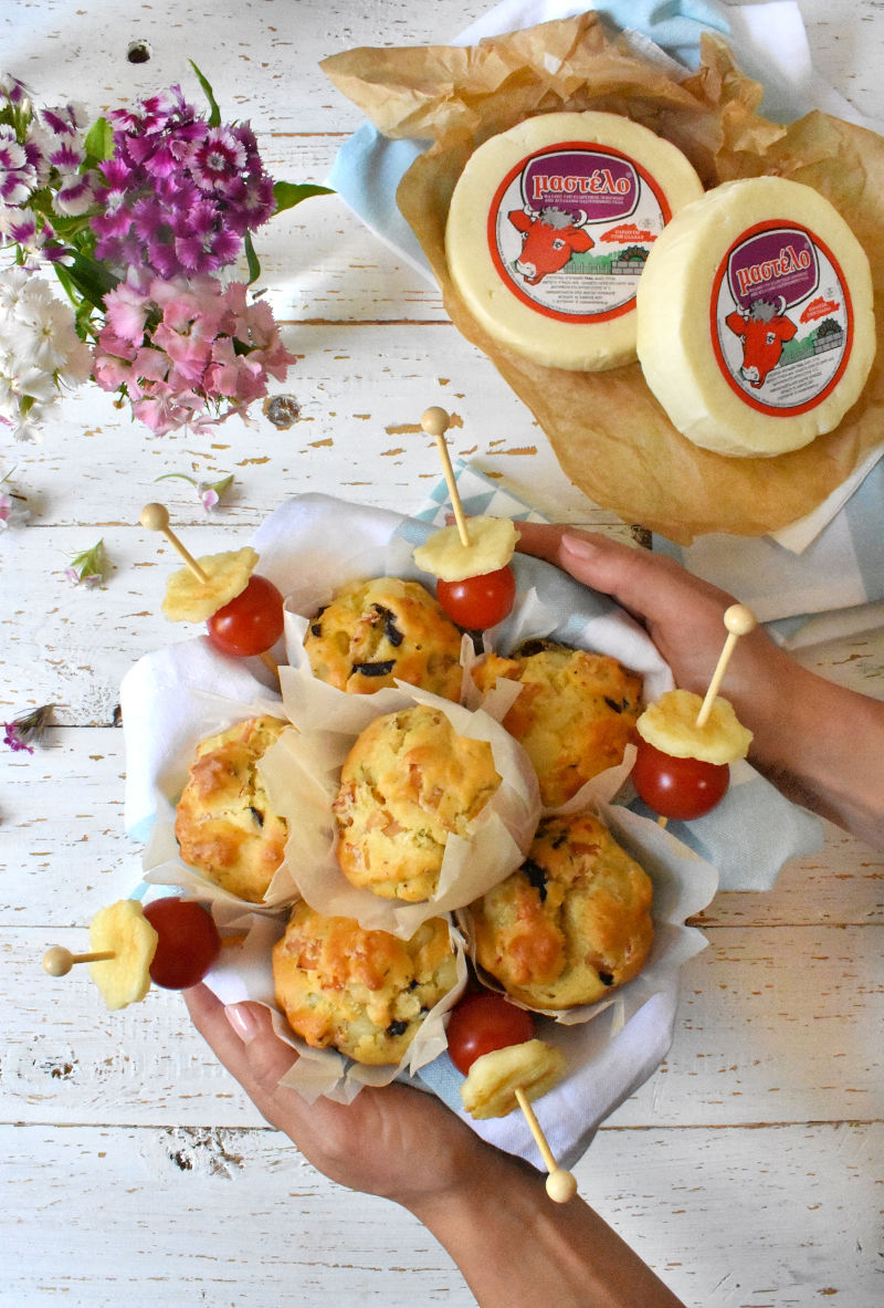 Handmade Little Treats   Μεσογειακά Μάφινς 3