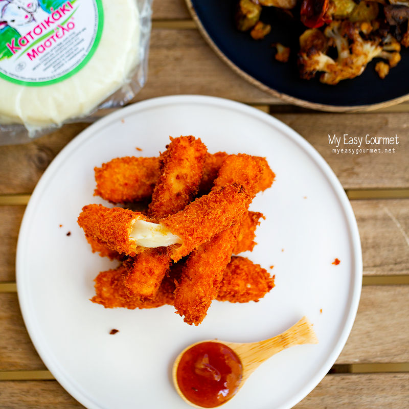 My easy gourmet | Panko Mastelo Sticks 3