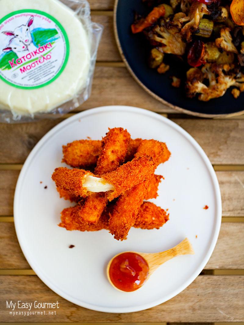 My easy gourmet | Panko Mastelo Sticks 4