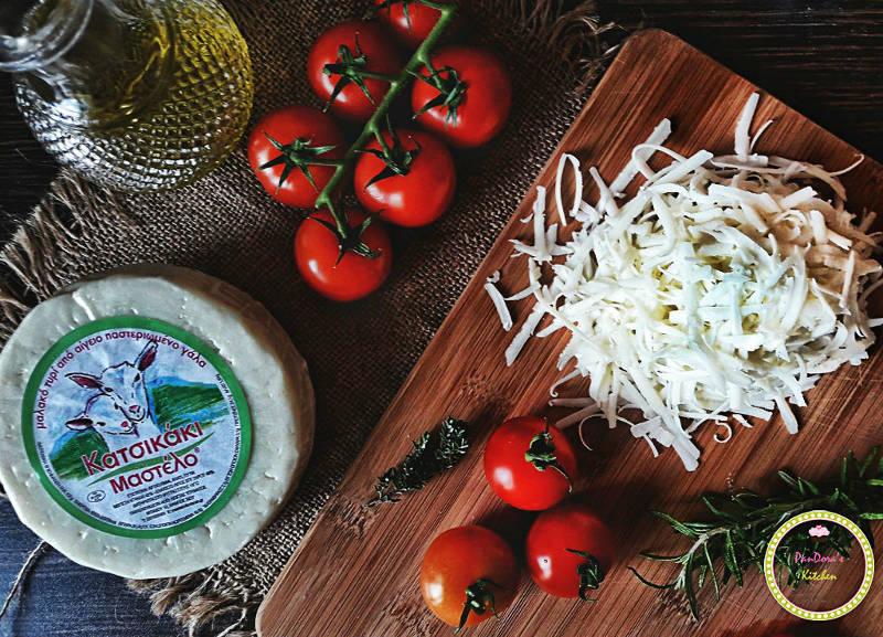 Pandora's Kitchen | Μεσογειακό τυρόψωμο 5