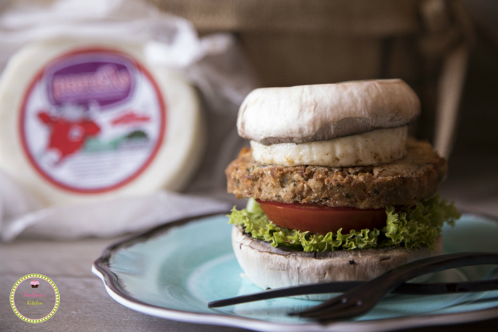 Pandora's Kitchen   Burger λαχανικών χωρίς ψωμί 2