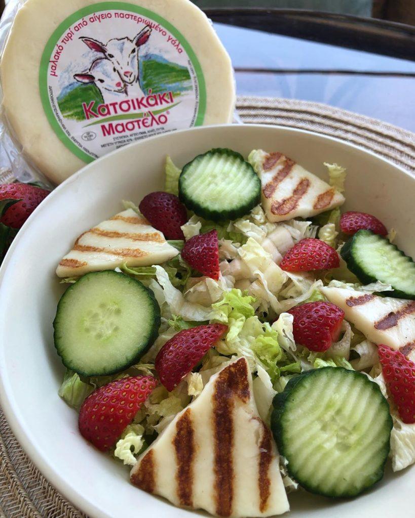 Healthy Recipes | Nutrition Tips | Καλοκαιρινή σαλάτα με Μαστέλο®