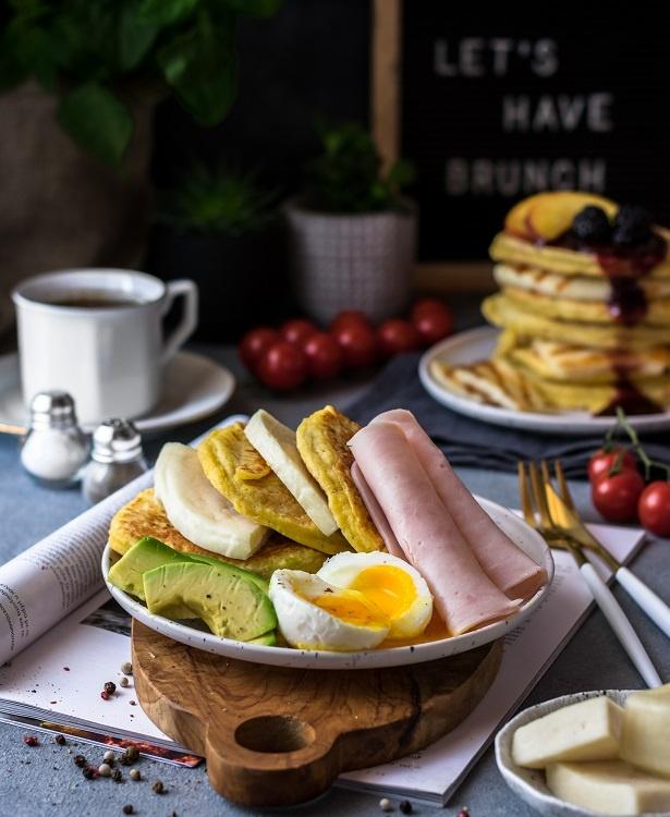 Γλυκά & αλμυρά pancakes με μαλακό τυρί Μαστέλο® 1
