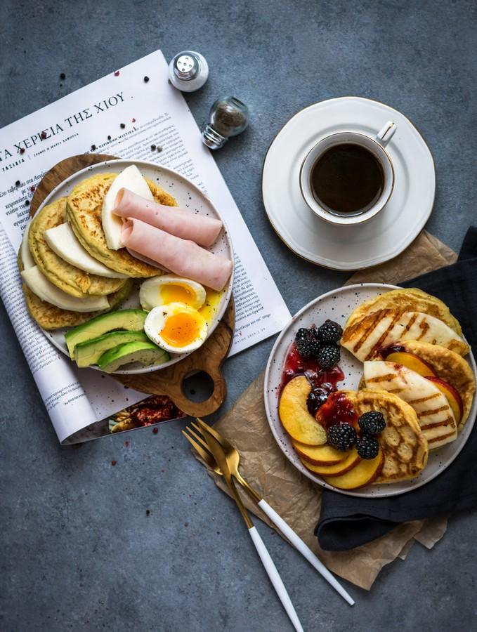 Γλυκά & αλμυρά pancakes με μαλακό τυρί Μαστέλο® 2
