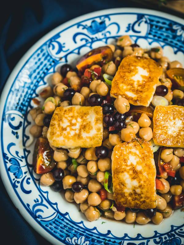 Καλοκαιρινή σαλάτα με ρεβίθια & Μαστέλο® 1