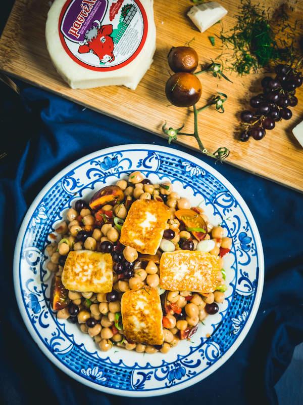 Καλοκαιρινή σαλάτα με ρεβίθια & Μαστέλο® 2