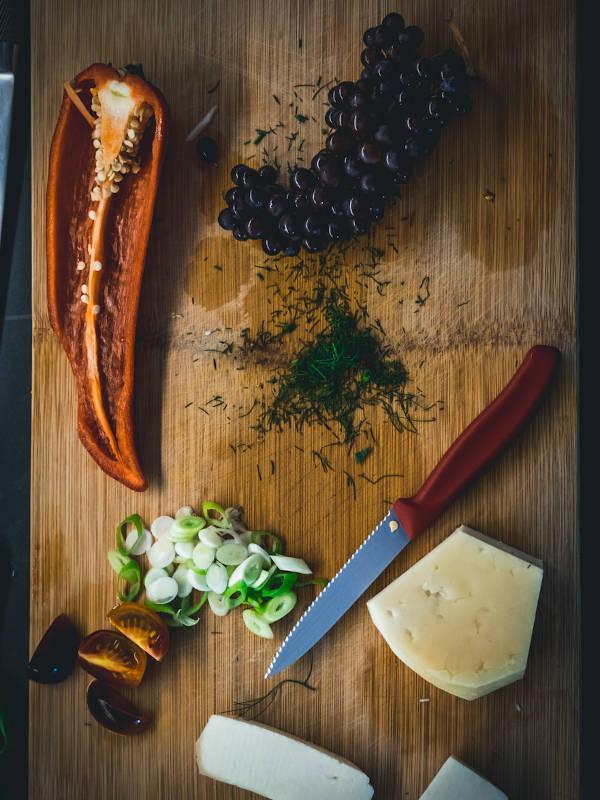 Καλοκαιρινή σαλάτα με ρεβίθια & Μαστέλο® 6