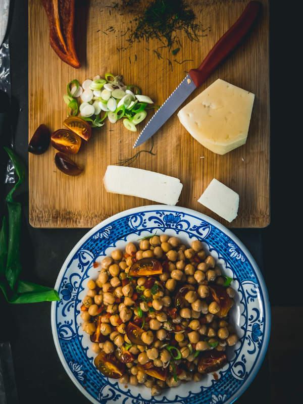 Καλοκαιρινή σαλάτα με ρεβίθια & Μαστέλο® 7