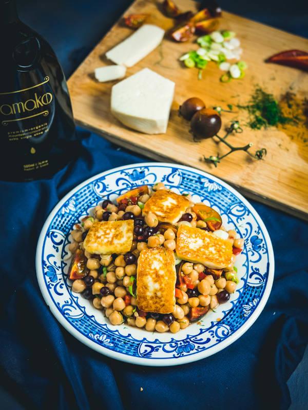 Καλοκαιρινή σαλάτα με ρεβίθια & Μαστέλο® 8