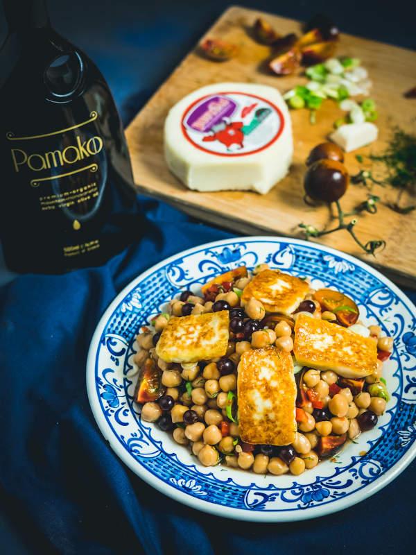 Καλοκαιρινή σαλάτα με ρεβίθια & Μαστέλο® 9