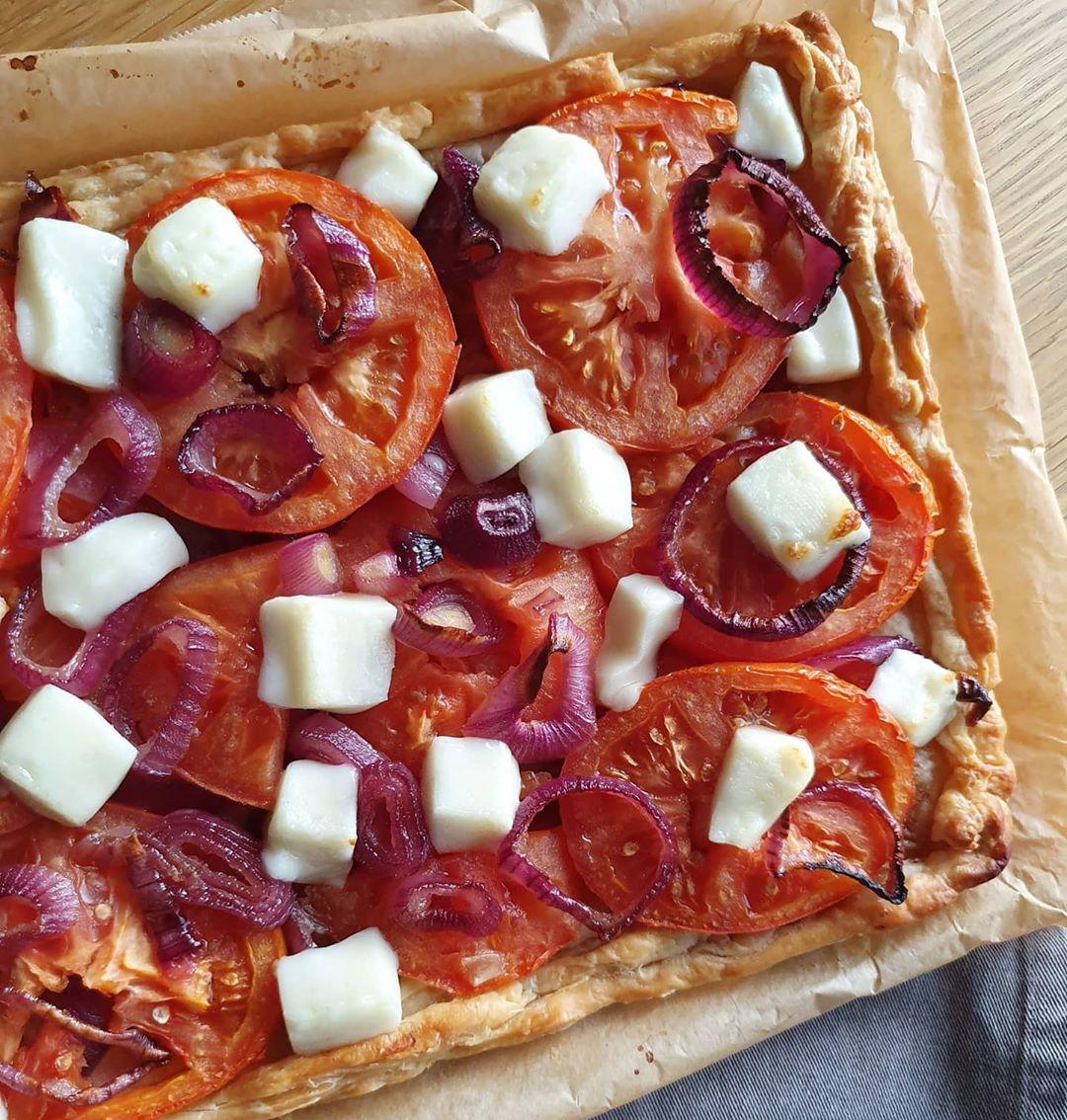 Tomato tart with Mastelo®