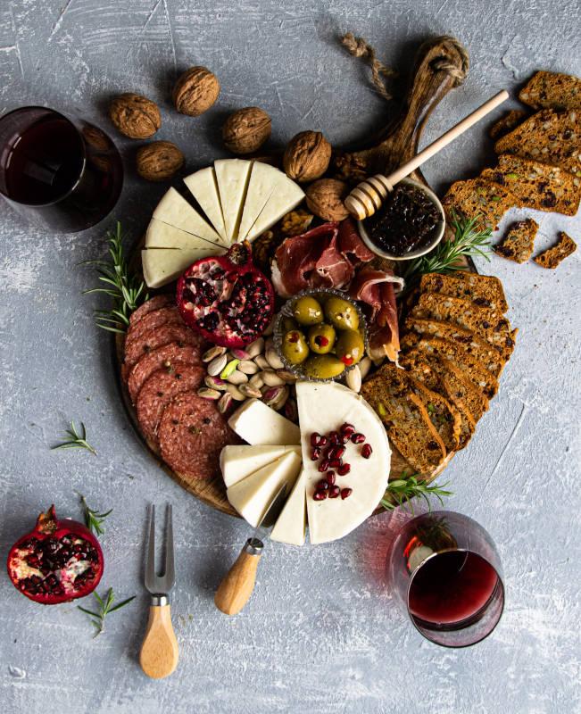 Πιατέλα τυριών & συνταγή για Crackers 1