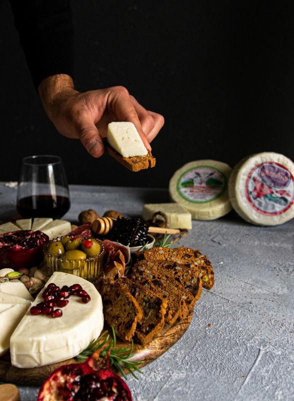 Πιατέλα τυριών & συνταγή για Crackers 11