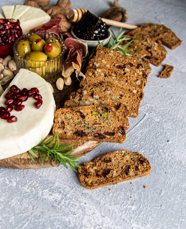 Πιατέλα τυριών & συνταγή για Crackers 8