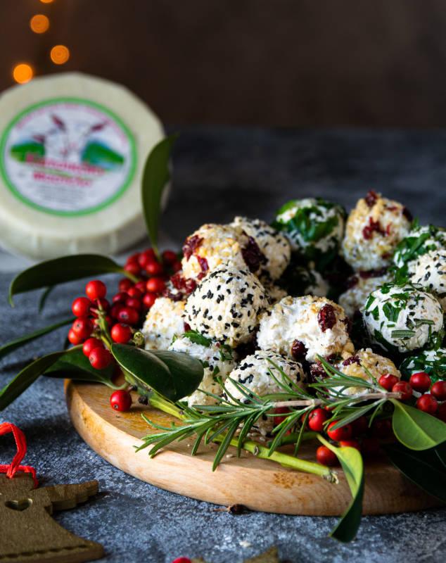 Γιορτινές μπαλίτσες τυριού με κατσικάκι Μαστέλο® 11
