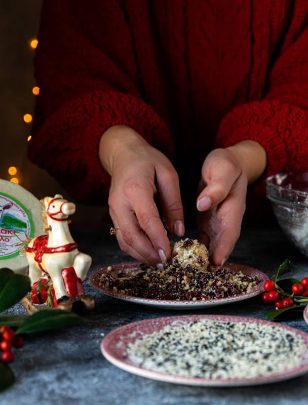 Γιορτινές μπαλίτσες τυριού με κατσικάκι Μαστέλο® 3
