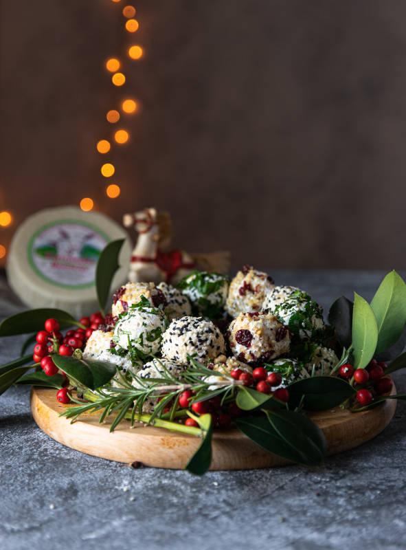 Γιορτινές μπαλίτσες τυριού με κατσικάκι Μαστέλο® 4
