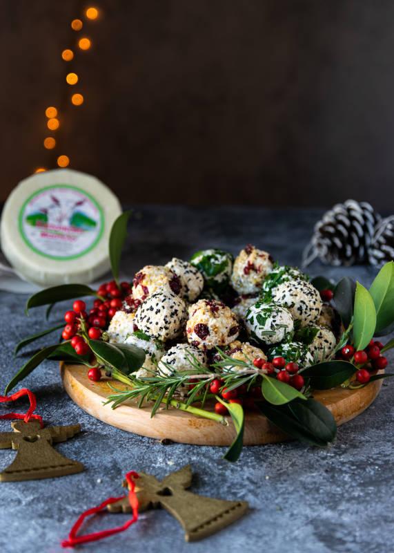 Γιορτινές μπαλίτσες τυριού με κατσικάκι Μαστέλο® 8