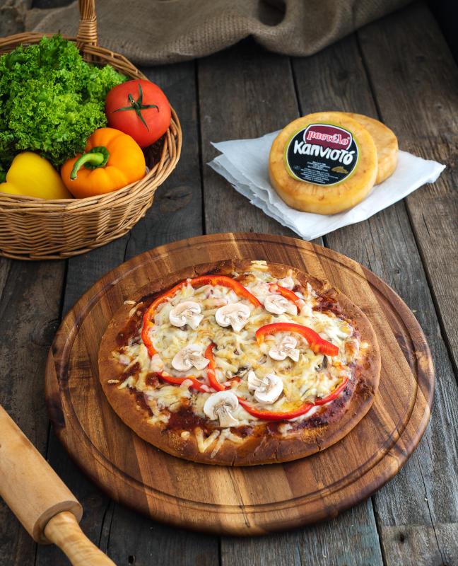 Ιταλική πίτσα με Λαχανικά (1)